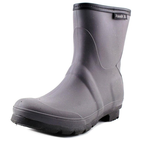 Kamik Jenny Lo Round Toe Synthetic Rain Boot