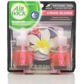Air Wick Scented Oils, National Park Series Twin Refill, Virgin Island Paradise Flowers 0.67 oz ea - Thumbnail 0