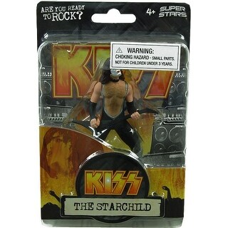 "Kiss 4.5"" Action Figure Paul Stanley The Starchild"