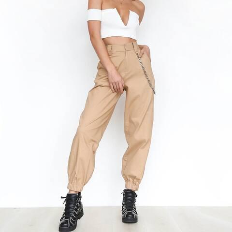 Solid Color Sports Casual Pants Harem Pants