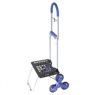 Stair Climber Bigger Mighty Max Dolly(TM) Handtruck - Blue