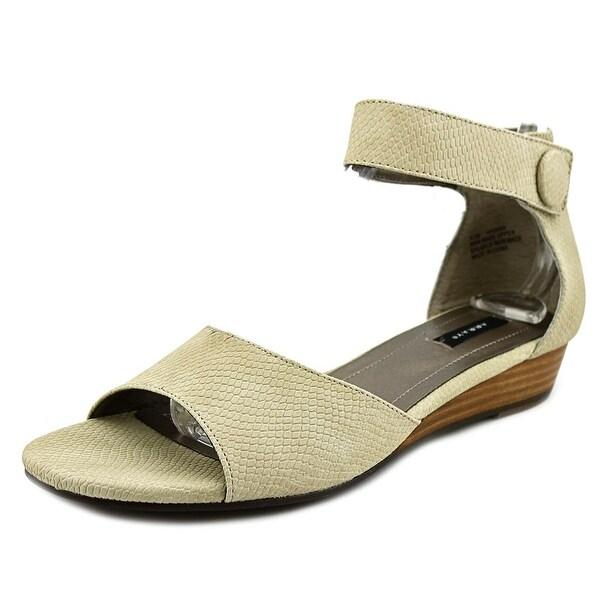 Array Havana Women W Open Toe Synthetic Wedge Sandal