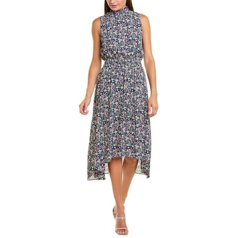 Nanette By Nanette Lepore Smocked Midi Dress
