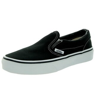 Vans Unisex Child Classic Slip On - Black - 5.5 Toddler