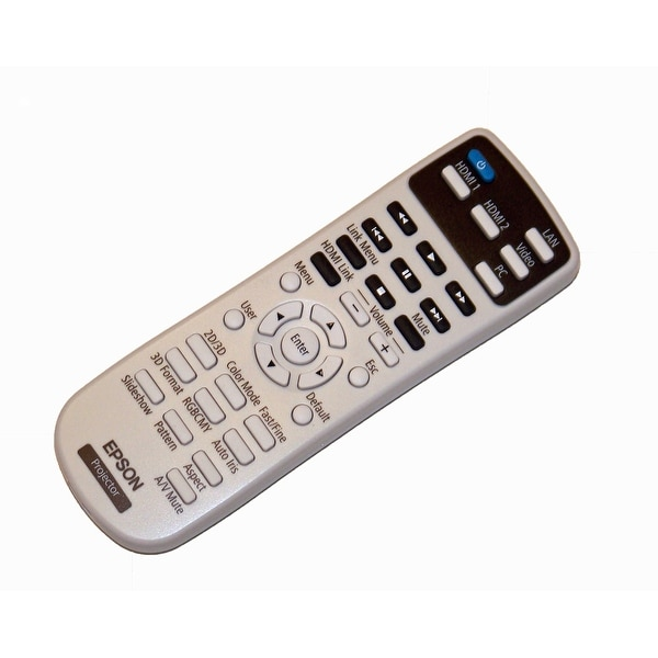 Epson Projector Remote Control- PowerLite Home Cinema 2000 & 2030 & EH-TW5200