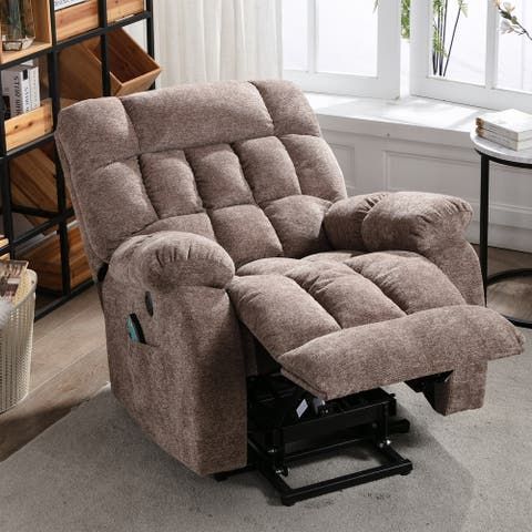 Electric Lift Recliner with Heat Therapy and Massage,for the Elderly
