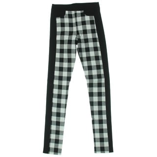 Silva Womens Ponte Gingham Leggings - S
