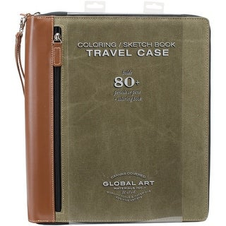 Coloring Book Case-Large Holds 81-Olive