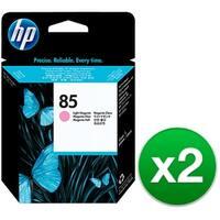 HP 85 Light Magenta DesignJet Printhead (C9424A) (2-Pack)