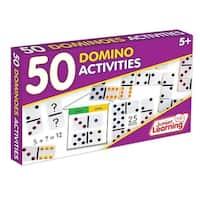 Junior Learning JRL339 Plastic 50 Dominoes Activities Set
