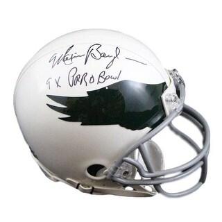 Maxie Baughan Autographed Philadelphia Eagles Mini Helmet 9x Pro Bowl SGC