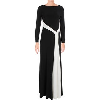 Lauren Ralph Lauren Womens Nedra Evening Dress Long Sleeves Full-Length (3 options available)