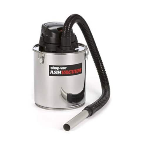 Shop-Vac 4041300 Ash Dry Vacuum with Stainless Steel Tank, 5 Gallons, 6.3 Amp