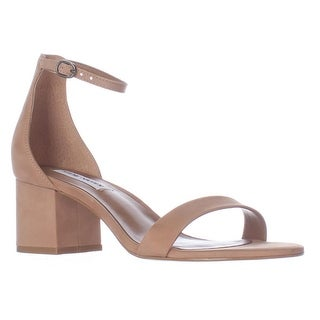 Steve Madden Irenee Heeled Ankle Strap Sandals, Tan