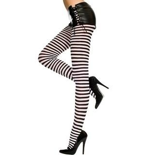 f85f98b7799 Shop Plus Size Opaque Striped Tights