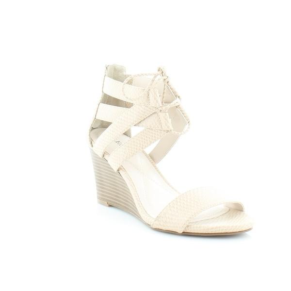 Alfani Karlii Women's Sandals & Flip Flops Cashew