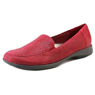 Trotters Jenn WW Square Toe Leather Loafer