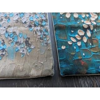 Jasmine Tree Cotton Linen Throw Pillow 18 Inch