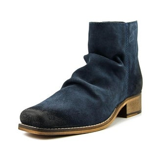 Seychelles Fondness Women  Round Toe Suede Blue Ankle Boot