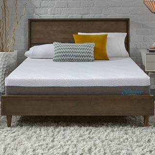 Slumber Solutions SELECT 10-inch Queen-size NRGel Memory Foam Mattress