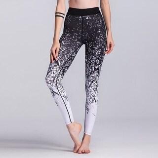 Pattern Printed Yoga Pants