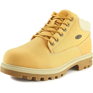 Lugz Empire Ballistic Men  Round Toe Canvas Tan Boot