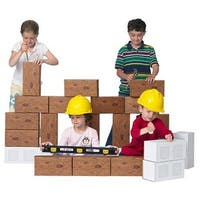 24 piece Giant ConstructionBlock Set