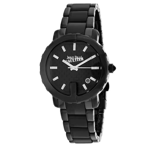 Jean Paul Gaultier Women's Classic Black Dial Watch - 8500514 - One Size