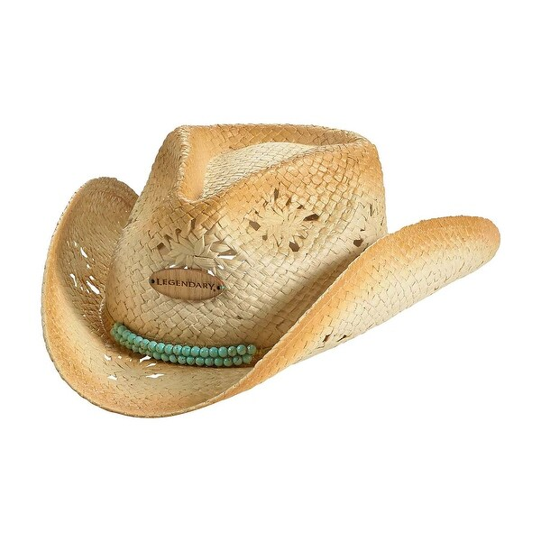 Legendary Whitetails Ladies Ropes And Reins Cowgirl Hat - Prairie - One size