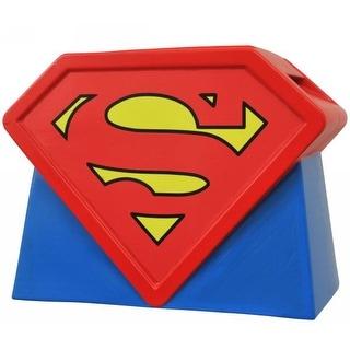 Superman The Animated Series Ceramic Logo Cookie Jar