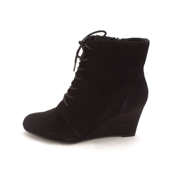Easy Spirit Women's Hasha Black Suede Boot - 8