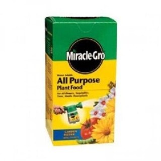 Miracle-Gro 1000283 Water Soluble All Purpose Plant Food 3 Lbs