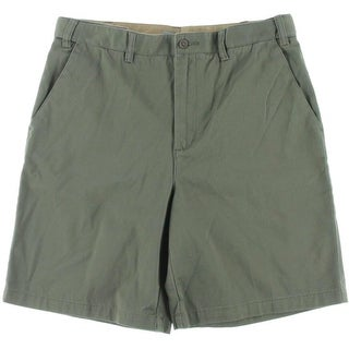 Geoffrey Beene Mens Classic Fit Extender Casual Shorts - 34