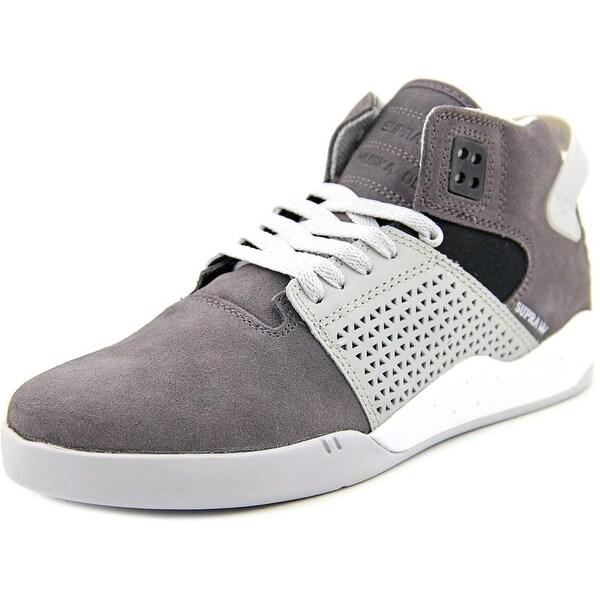 Supra Skytop III Round Toe Suede Sneakers