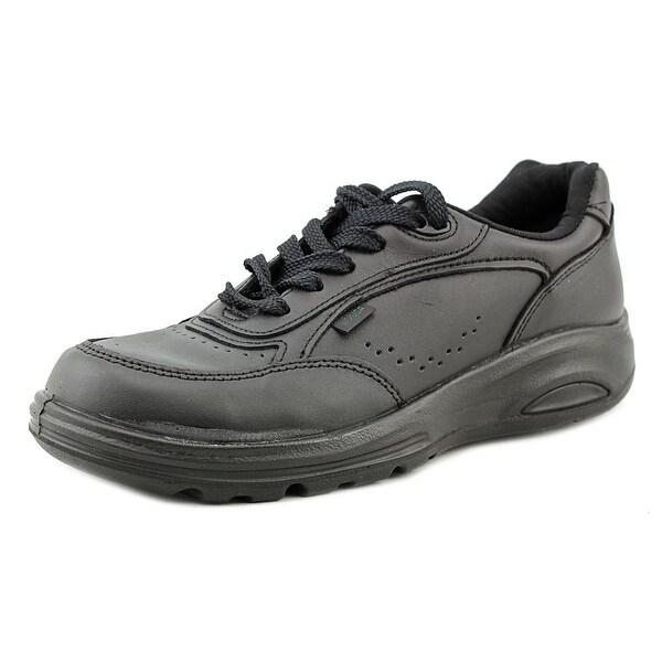 New Balance WK706 Women 2E Round Toe Leather Black Walking Shoe