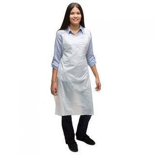 AMMEX PA Disposable Poly Aprons (Case of 400 units) - 1 Mil