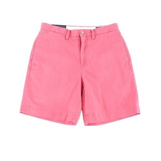 Polo Ralph Lauren NEW Red Men Size 33 Stretch Classic Chinos Shorts
