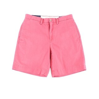 Polo Ralph Lauren Red Men Size 33 Stretch Classic Chinos Shorts