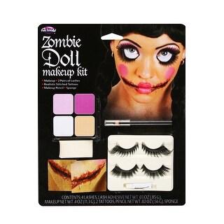 Fun World Zombie Doll Face Make-Up Kit - Multi