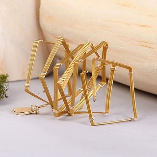 Mad Style Gold Wrap Bracelet W/ Beads - Silver