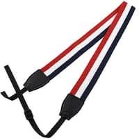 SHETU Authorized DSLR Camera Anti-slip Shoulder Neck Strap Lanyard Red Dark Blue
