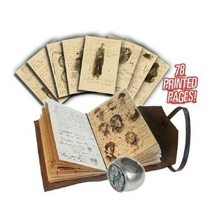 Doctor Who Journal of Impossible Things with Master Ring - multi