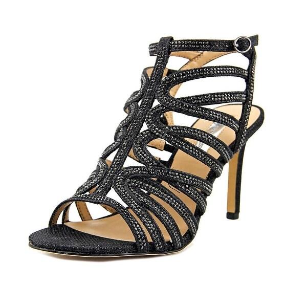 INC International Concepts Gawdie Women Black Sandals