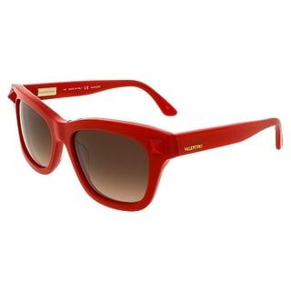 Valentino V681/S 627 Rouge Rectangle Sunglasses