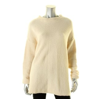 Free People Womens Pullover Sweater Long Sleeves Crew Neck - M/L