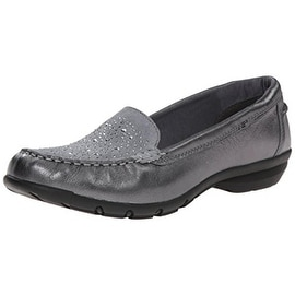 Skechers Womens Career Fabulous Advise Leather Relaxed Fix Fashion Loafers - 9 medium (b,m)