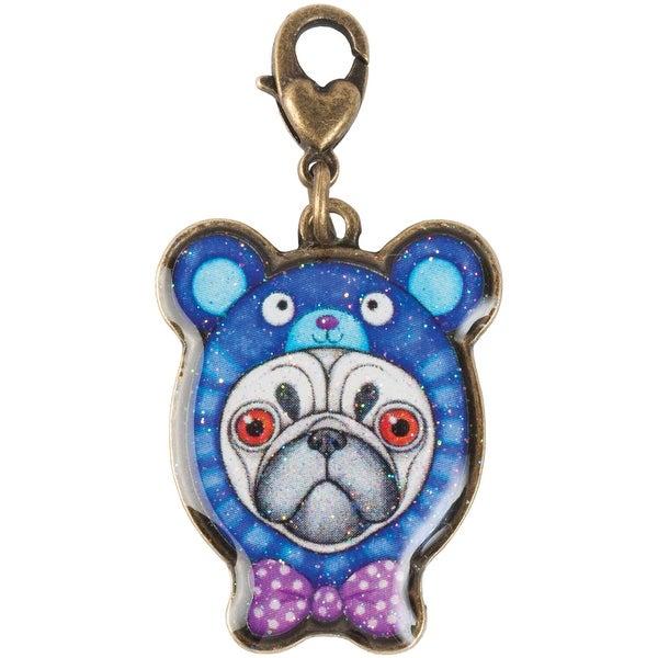 Thaneeya(R) LLC Acrylic Charm 1/Pkg-Pug With Hoodie
