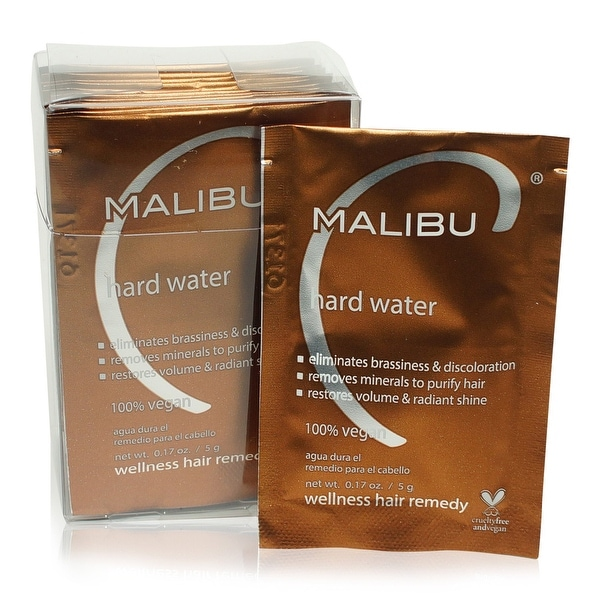 Malibu C Hard Water Weekly Demineralizer 12-pk.