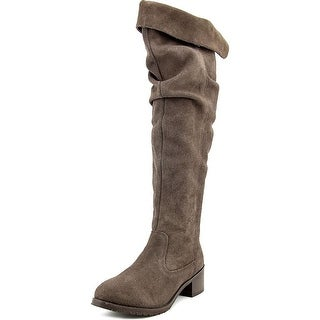 Matisse Cabriolet Round Toe Suede Over the Knee Boot