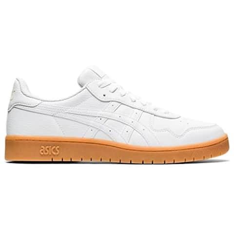 ASICS Men's Japan S Shoes, 10, White/White/Tan